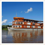 River cruise in the Amazon